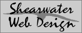 shearwater web design logo